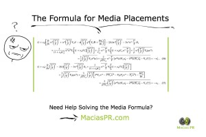 Formula for Media Placements