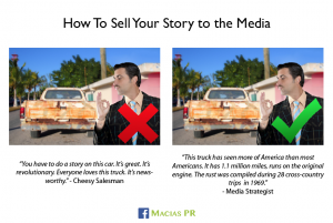 Macias PR - How to sell your story