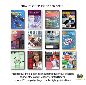 pr for b2b sectors how it works