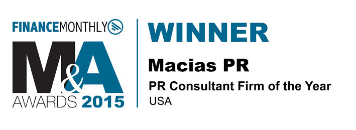 Finance Monthly Top PR Firm USA 2015