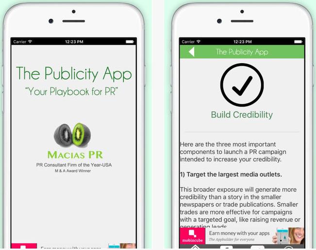 The Publicity App